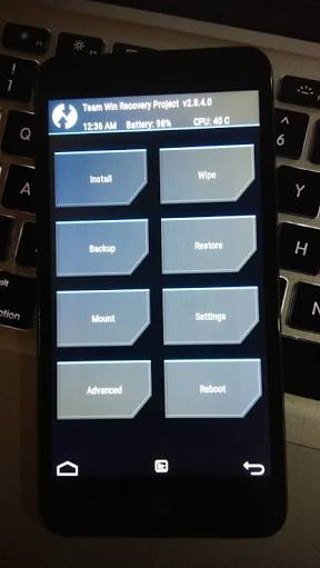 RECOVERY] [UNOFFICIAL] TWRP 3 1 1-0 for Smartron srtphone [rimo02a